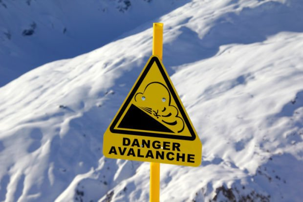 Avalanche stockimage