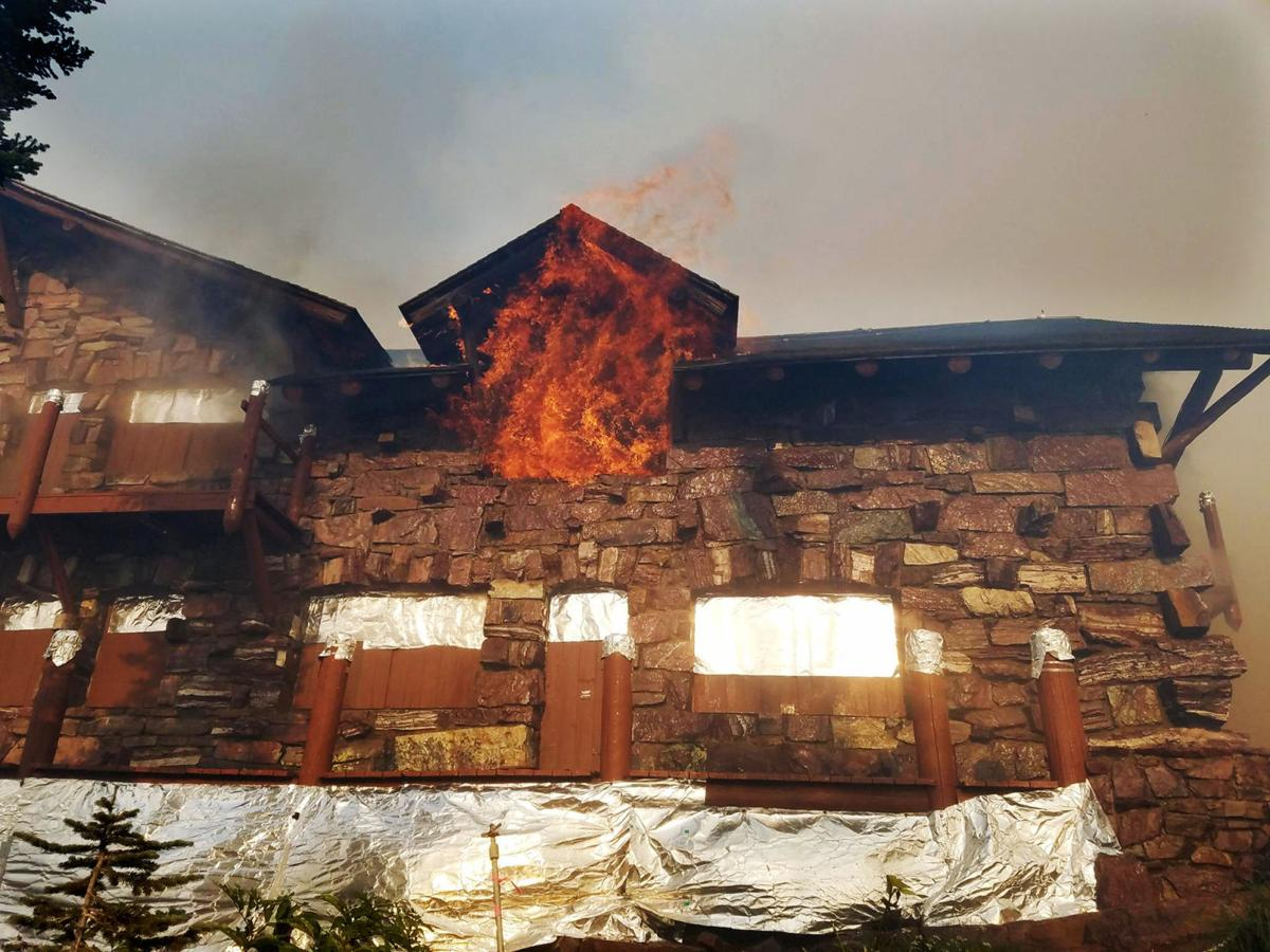 Fire that gutted sperry chalet was first noticed coming from 090217 sperryg sciox Choice Image