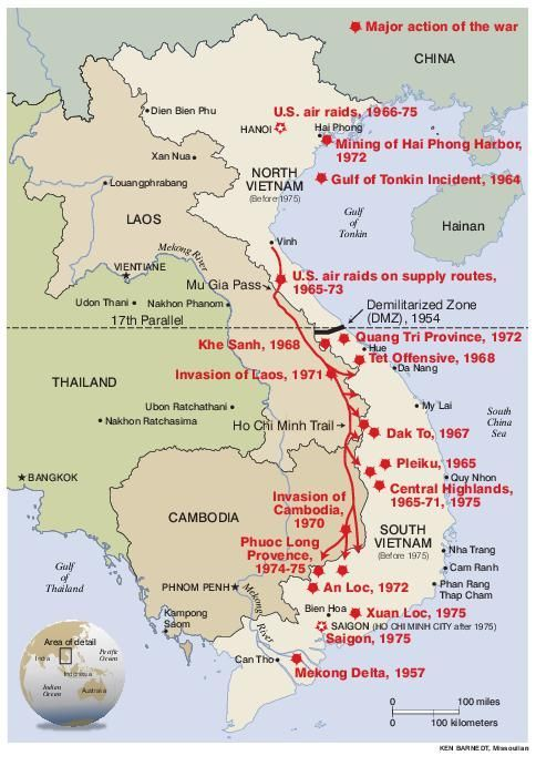 Map Of Vietnam Laos And Cambodia Missoulian Com