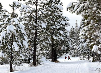 Pattee Canyon ski