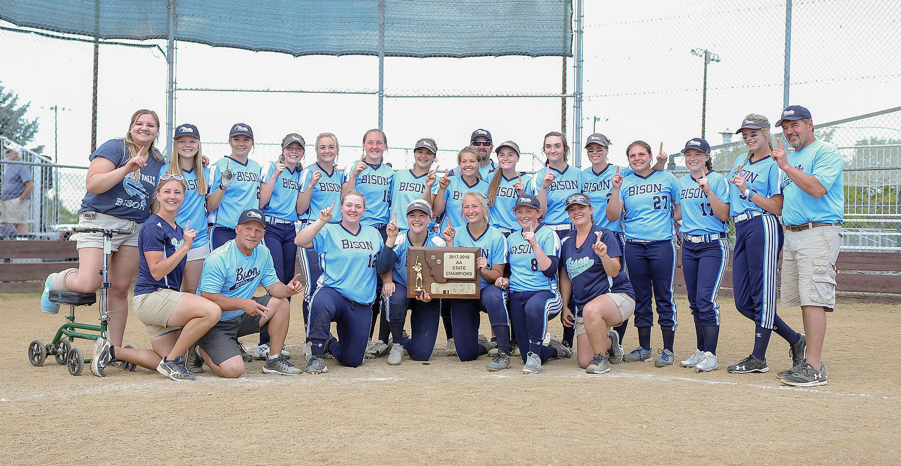 Great Falls High beats Missoula Sentinel 14-4 in finals for undefeated state softball championship
