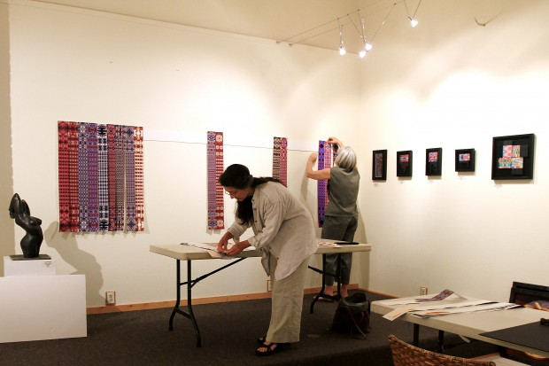 062912 weaver gallery hanging 2 mn.jpg