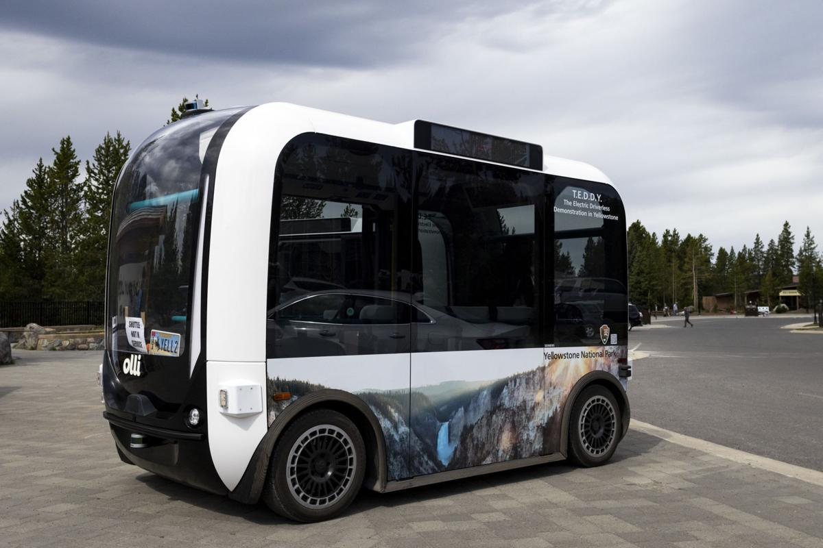 Yellowstone electric automated shuttles