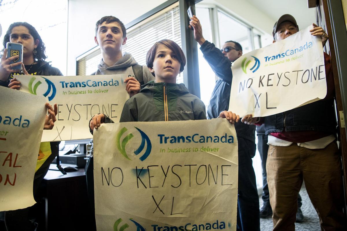 Keystone Pipeline protest 01