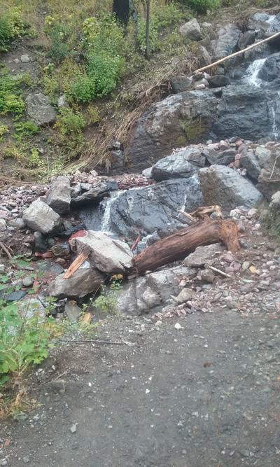 Monture Trail 27 washout