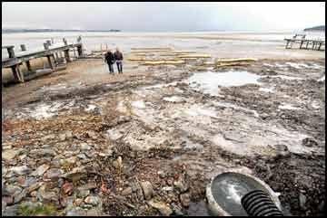 Flathead Lake oil spill