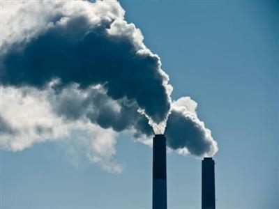 climate change pollution stockimage