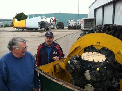 062113 antique plane engine