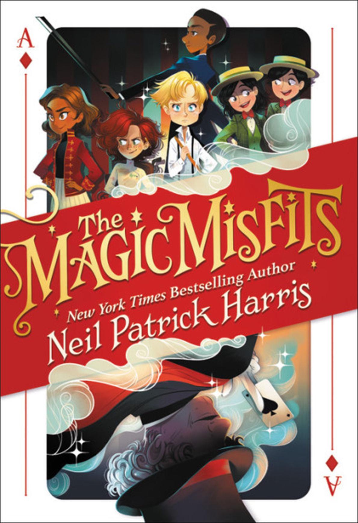 BOOKS BOOK-HARRIS-MAGICMISFITS SE
