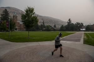 UPDATED: UM outdoor classes move inside due to smoke