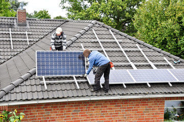 Residential home rooftop solar