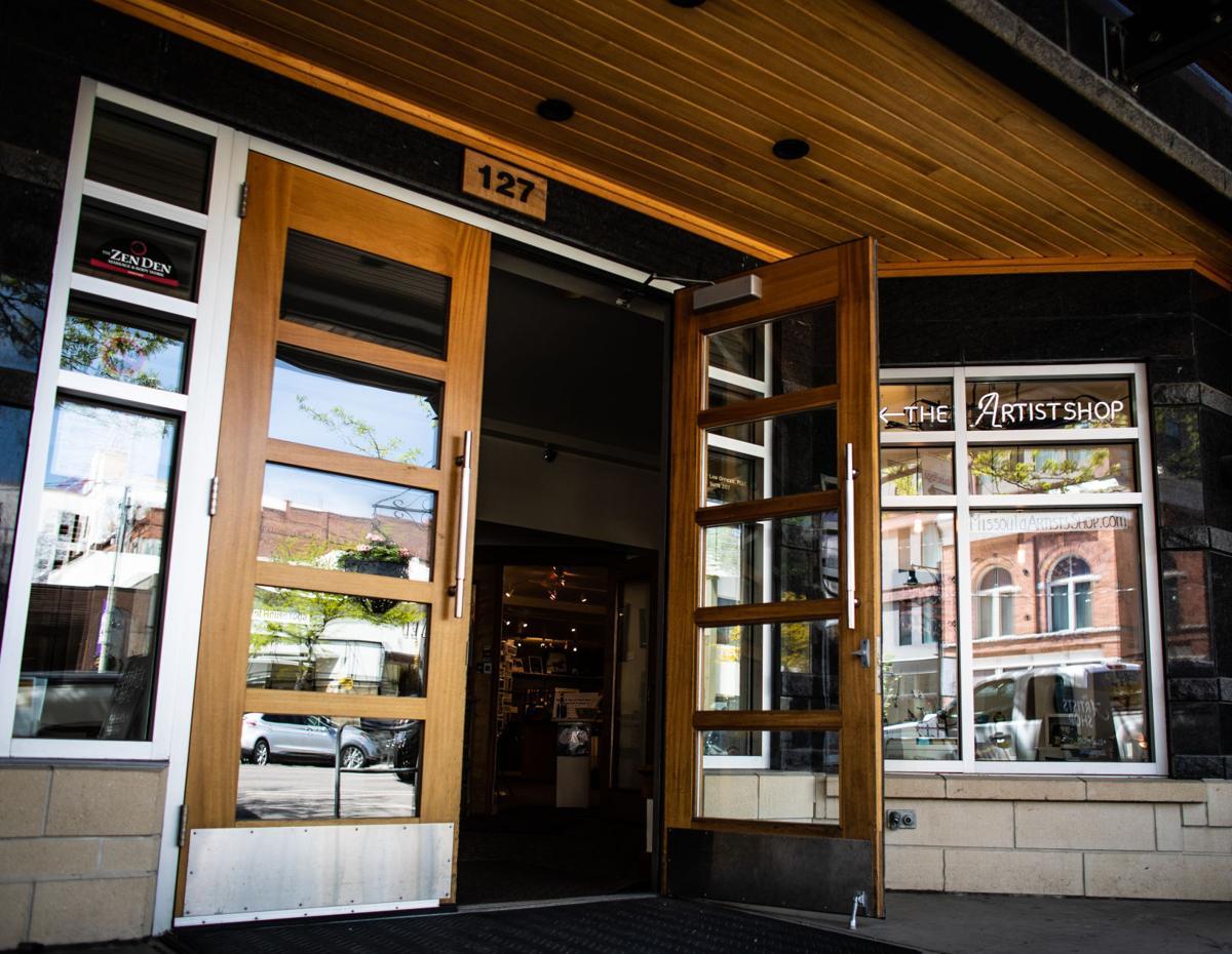 Artists' Shop doorway
