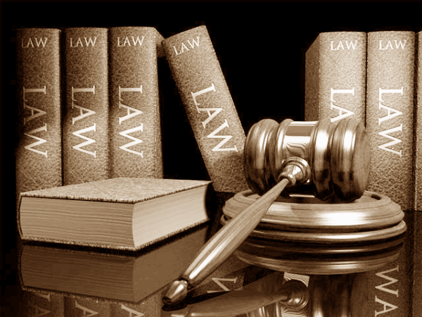 Legal icon law gavel court judge sepia