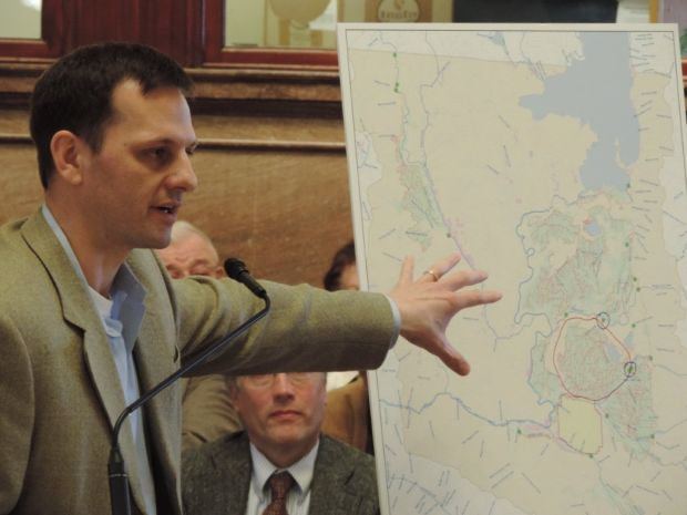 Cory Swanson explains water rights enforcement
