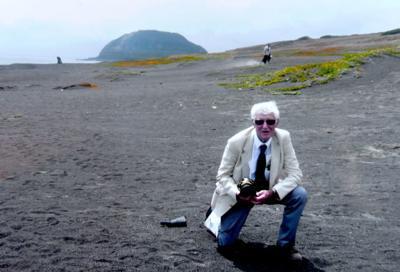 Ron Scharfe on Iwo Jima 2015