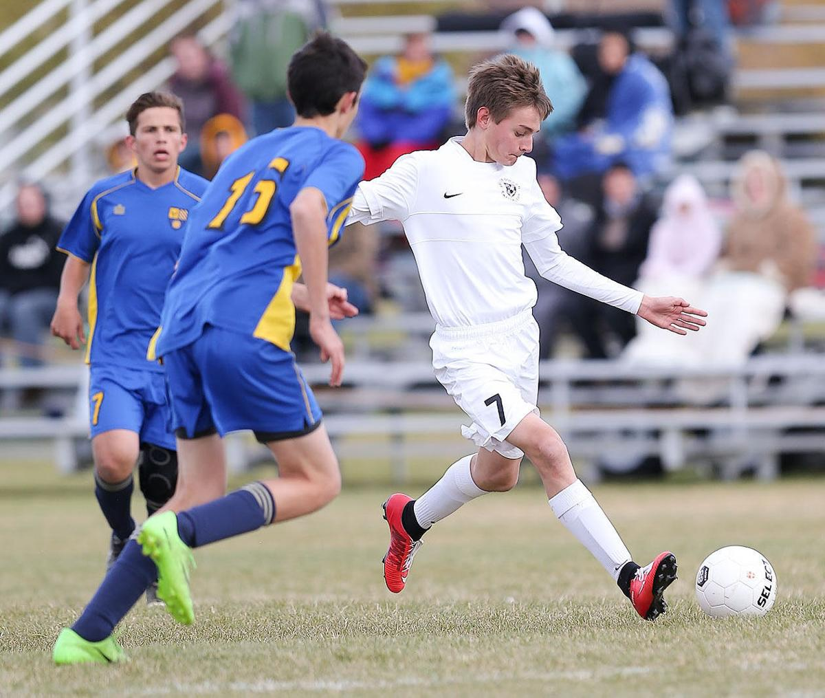 boy soccer; CHS vs Big SKy