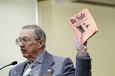 Gary Marbut, lobbyist for the Montana Shooting Sports Association,