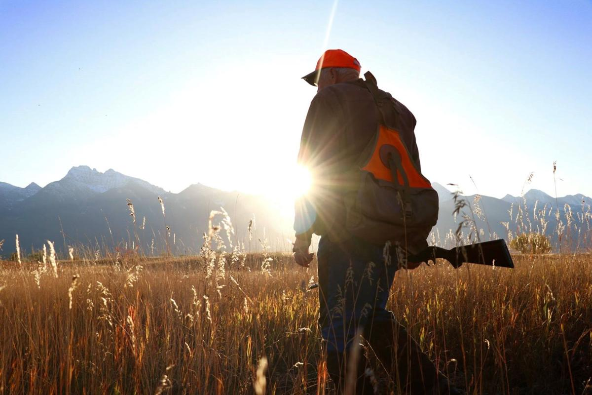 Local bird hunter Greg Munther hunts pheasants on the Flathead Reservation.
