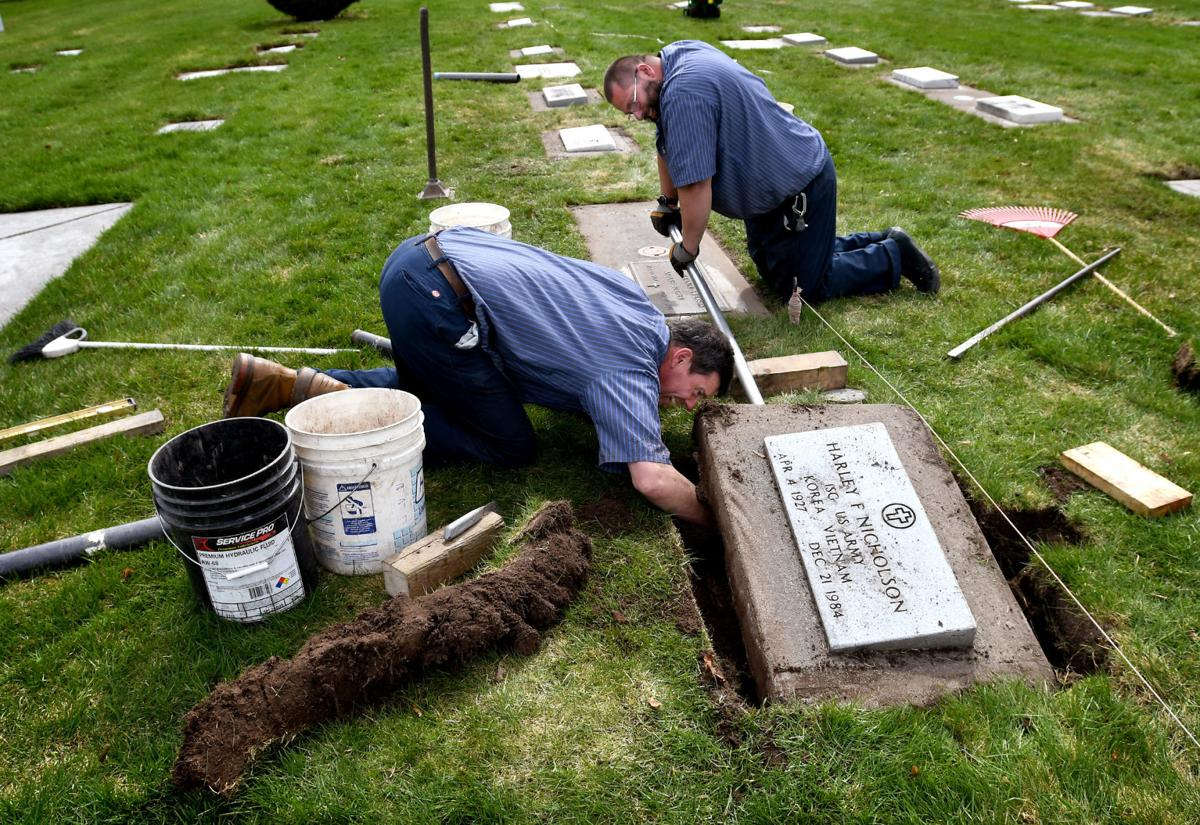 Missoula City Cemetery work