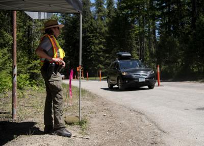 Glacier National Park car corral
