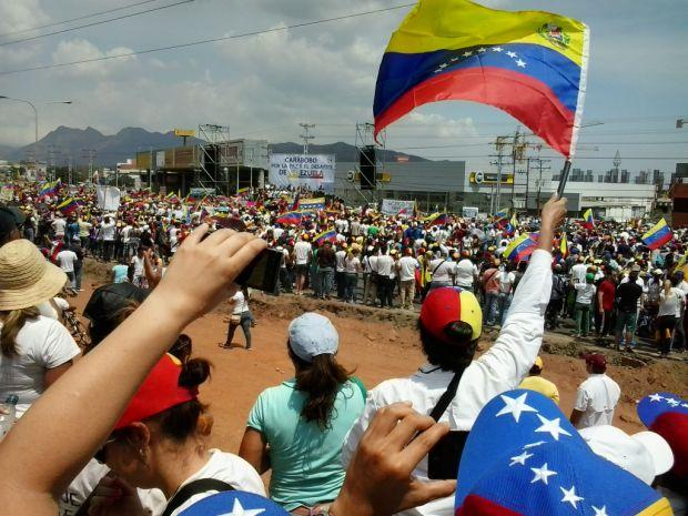 031914 venezuela protest
