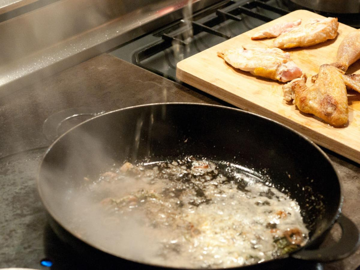 Flash in the Pan: Don't let the pan dry out | Food & Cooking ...