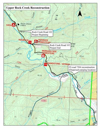 Upper Rock Creek project
