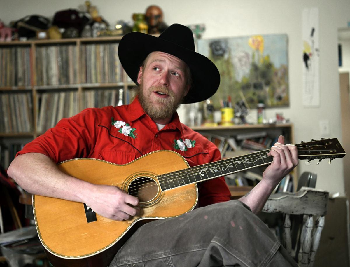 Aaron Jennings sings