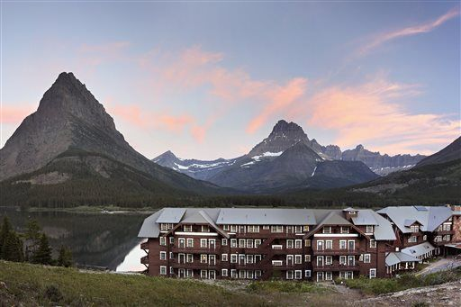Many Glacier Hotel survived fires, floods, ravages of time