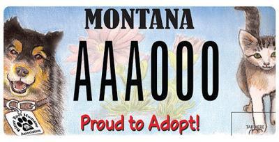Bitter Root Humane Association license plate revoked