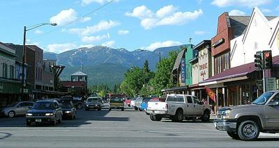Downtown Whitefish, Montana