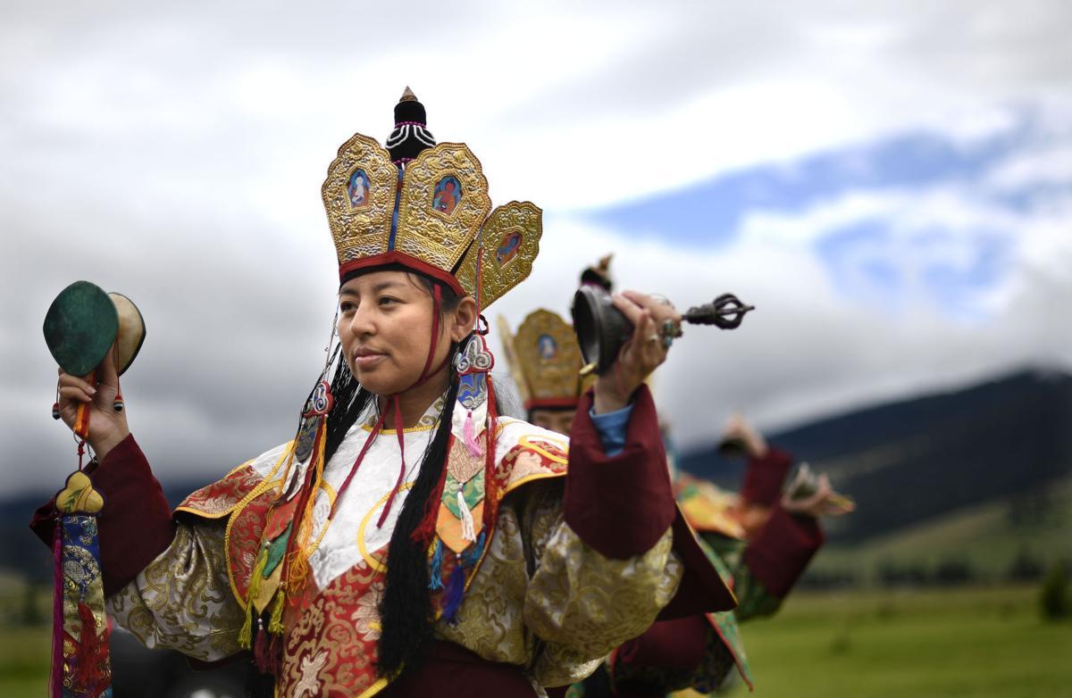 Garden of one thousand buddhas holds tibetan cultural festival local Garden of one thousand buddhas