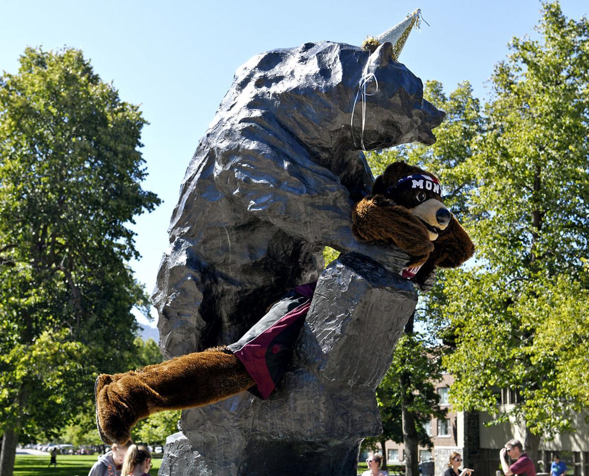 UM Bear Sculpture 1