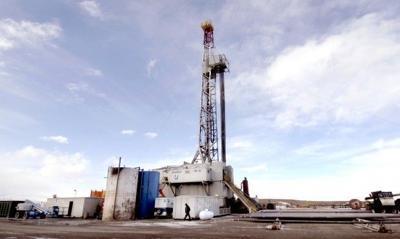 Blackfeet oil rig