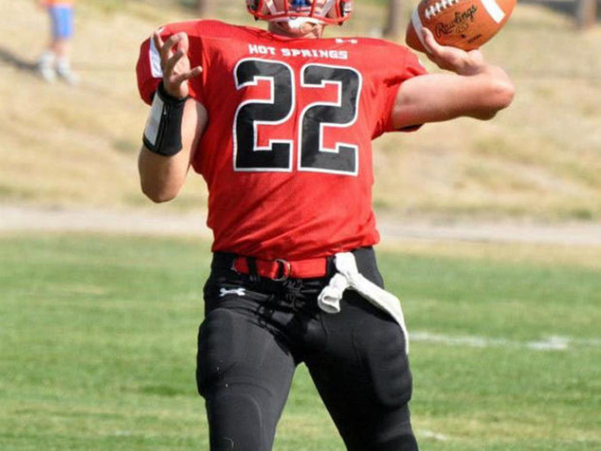Savagethomas On Twitter Red Roblox Cap Need To See Its Bro Tanner Hoff Leads Hot Springs Quartet In Final Game Football Missoulian Com