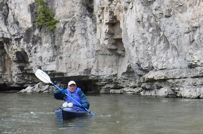 Still paddling at 87: Billings man kayaks Smith River