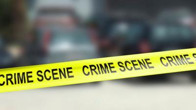 Crime scene stockimage