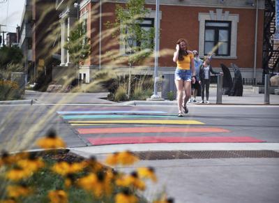 Rainbow crosswalk (copy)