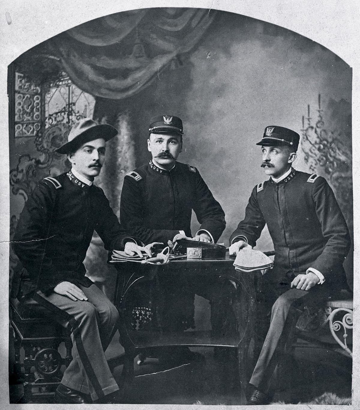 Will Cave in Spanish American War uniform