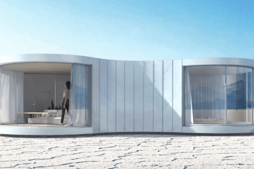 This Cocoon-Like Home Is The Chicest Tiny House You'll Ever See