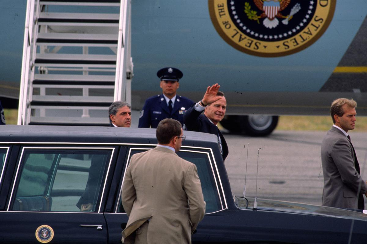 George H.W. Bush — 1990