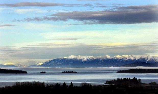 Flathead Lake from Polson