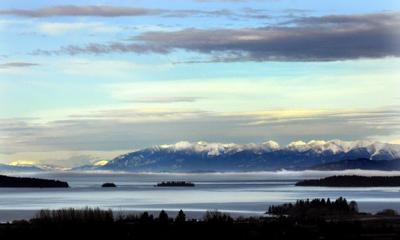 Flathead Lake from Polson
