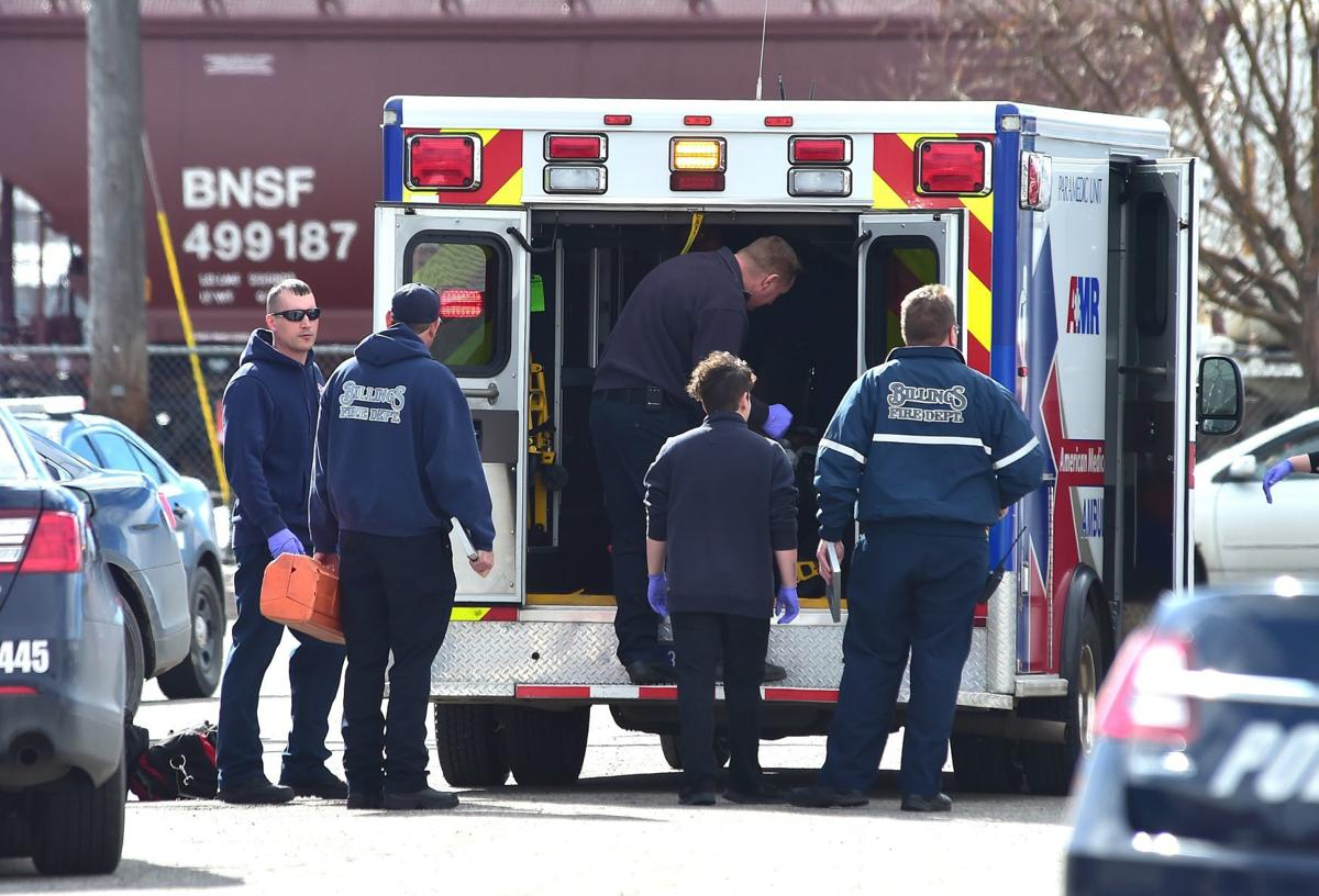 Shooting ambulance