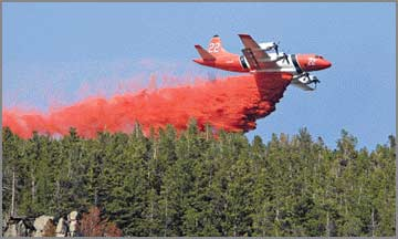 Weather aids Red Lodge fire crews