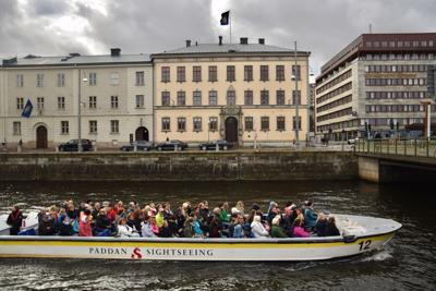 Sweden's second largest city, Gothenburg, was the main port of departure for emigrants who flocked to America between 1850 and 1930.