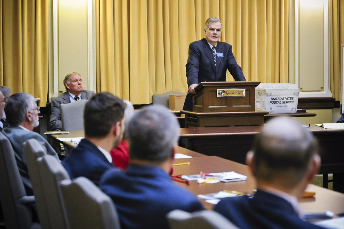 Senate President Scott Sales
