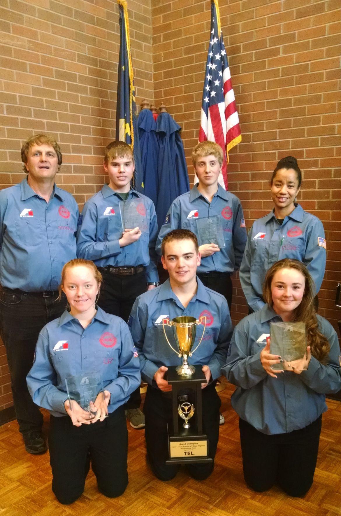Drummond's F1 in Schools team