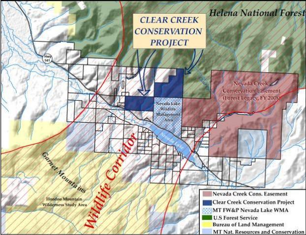 Proposed Nevada Lake WMA expansion