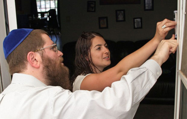 Rabbi Works To Bring Mezuzahs To Jews In Montana State